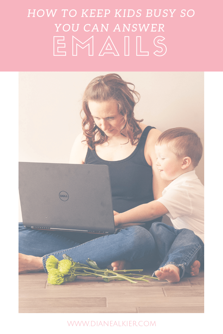 How to keep kids busy so you can answer emails