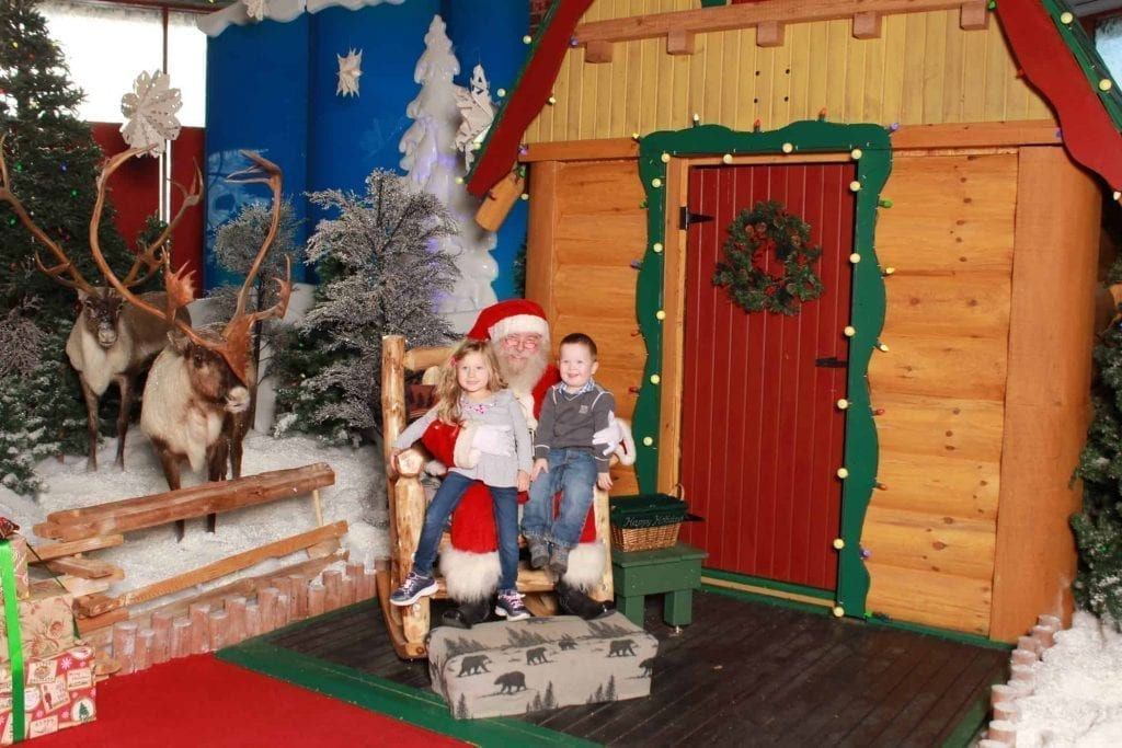 No Spend Activities - Photo With Santa