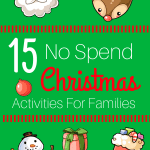 No Spend Christmas Activities for Families